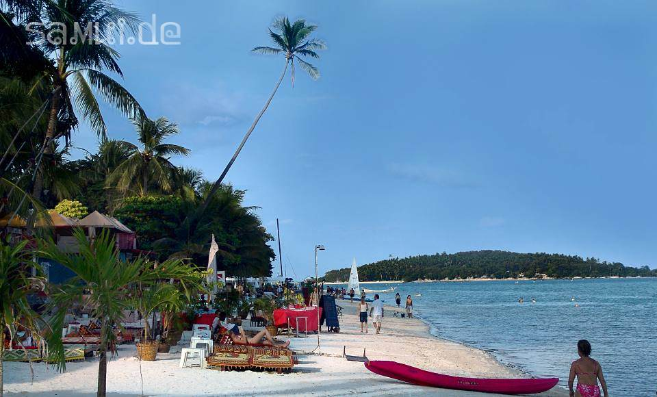 Samuide Chaweng Beach Koh Samui Hotels Bungalows Am Chaweng