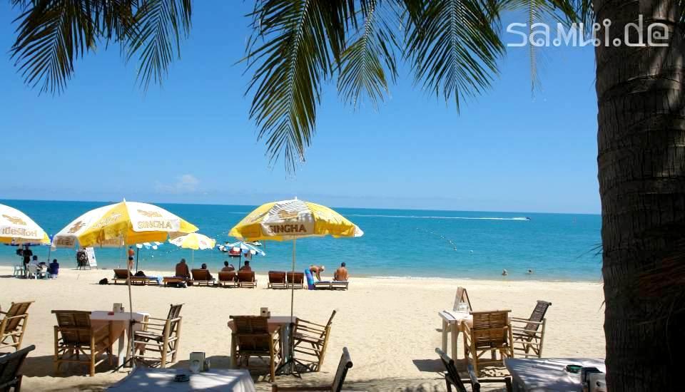 Samui De Lamai Beach Koh Samui Hotels Bungalows Am Lamai