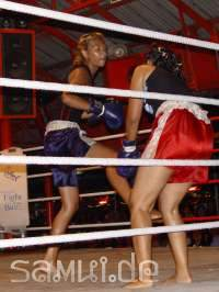 Lady Boxing am Lamaibeach (Ko Samui)